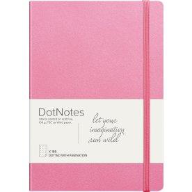 Mayland DotNotes Notesbog A5, pink