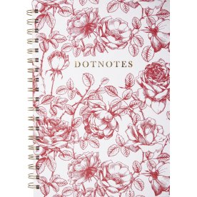 Mayland DotNotes Notesbog | Blomster