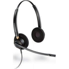 Poly EncorePro HW520 Duo headset, sort