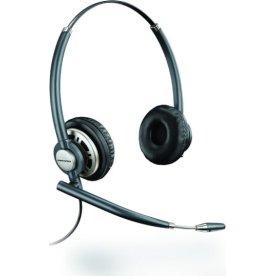 Poly EncorePro HW720 duo headset, sort