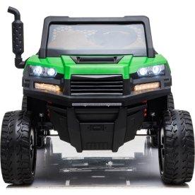 EL-drevet Azeno farmer truck til børn, 12V, grøn