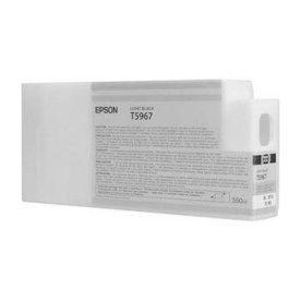 Epson T6367 blækpatron, lys sort