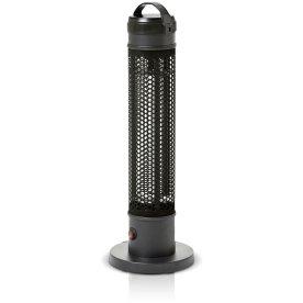 Elektrisk terrassevarmer 800W Sort