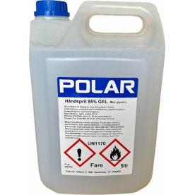Polar Hånddesinfektion 85% | Gel | 5 L