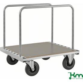 Transportvogn, m. 2 bøjler, 500 kg., 89x80x94 cm.
