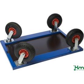 Udbytning til luftgummihjul - 2xdreje, 2xfast
