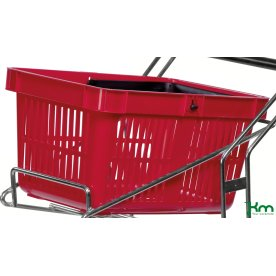 Indkøbskurv til butiksvogn, 1 stk.