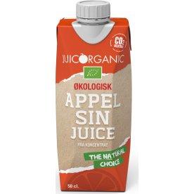 JuicOrganic økologisk appelsinjuice, 50 cl.