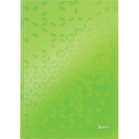 Leitz WOW notesbog A4, kvadreret, grøn