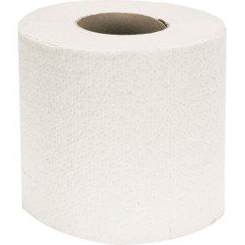 Toiletpapir 2-lags, 64 ruller pr. sæk, ubleget