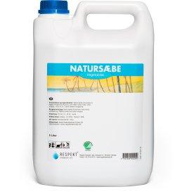 Respekt Natursæbe brun flydende, 5 liter