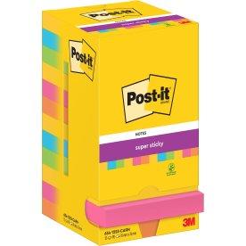 Post-it Super Sticky Notes 76x76mm, Rio de Janeiro