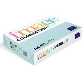 Image Coloraction A4, 80g, 500ark, azurblå