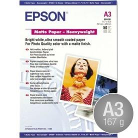 Epson C13S041261 mat, A3/167g/50ark