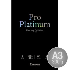 Canon PT-101 blank inkjetfoto, A3/300g/20ark