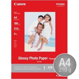 Canon GP-501 blank inkjetfoto, A4/210g/100ark