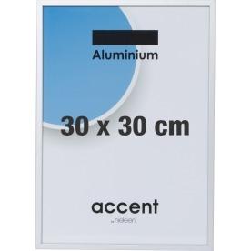 Accent Skifteramme 30 x 30 cm, sølv