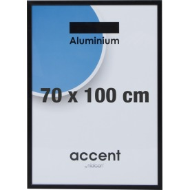 Accent Skifteramme 70 x 100 cm, sort