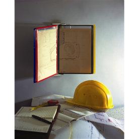 Tarifold Vægstander A4 inkl. 10 lommer