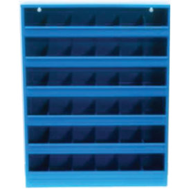 Boltreol 48 rum, blå, (BxDxH) 50x85x12,5