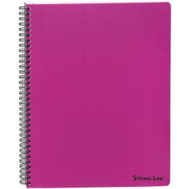 Bantex Strong-Line kollegieblok A4, linjeret, pink