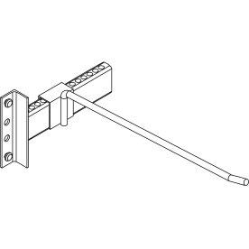 META vertikal opb. deler, l.400, Galvaniseret