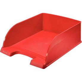 Leitz Plus Jumbo brevbakke, rød