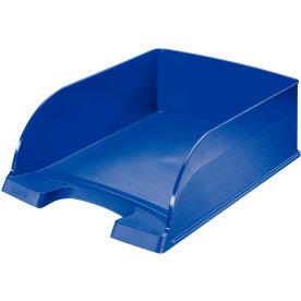 Leitz Plus Jumbo brevbakke, blå