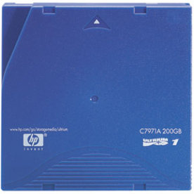 HP Ultrium LTO1 Cartridge (100GB/200GB)