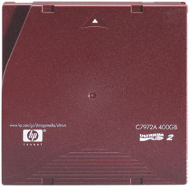 HP Ultrium LTO2 Cartridge (200GB/400GB)
