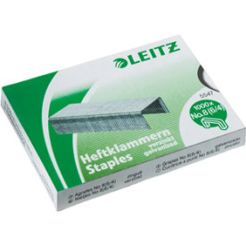 Leitz 221/4 Performance P1 hæfteklammer, 1000 stk.