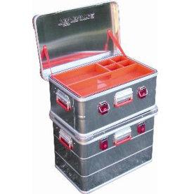 Transportkasse ALU 38 liter, 60x40x25 cm