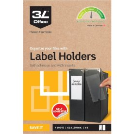 3L indstikslommer, 62x150mm, selvklæbende, 6stk