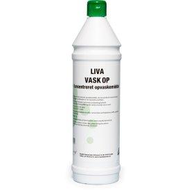 """Liva """"Vask Op"""" Opvaskemiddel, 1 liter"""