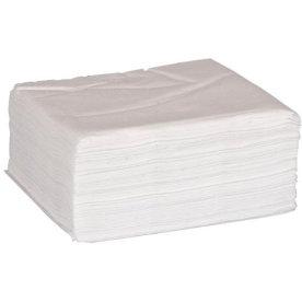 Papirserviet 33 x 33cm, 1-lag, 500stk, hvide