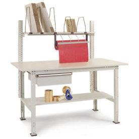 Manuflex pakkebord, opstilling 2, grå
