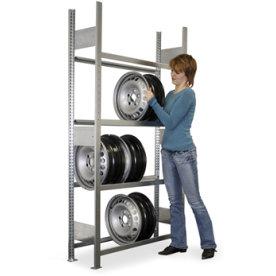 META Clip S3 fælgereol, 200x100x30, 150 kg, Tilbyg