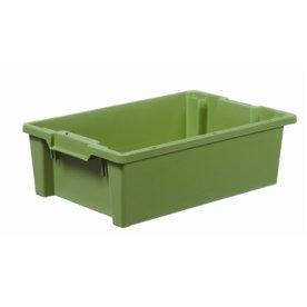 Arca stabelkasse 32 liter, 600x400x180, Grøn