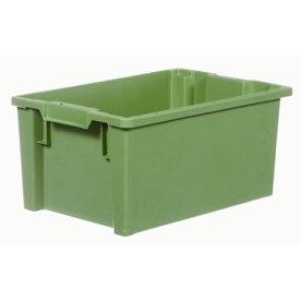 Arca stabelkasse 50 liter, 600x400x270, Grøn