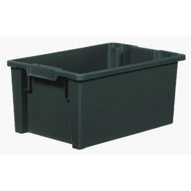 Arca stabelkasse 50 l, Recycling, 600x400x270, Grå