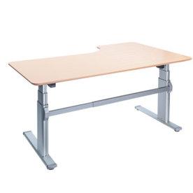 Fly hævesænkebord 180 cm venstre bøg 72-118 cm