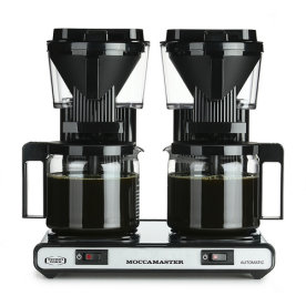 Moccamaster KBG744 AO 2x1,25 liter, sort