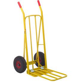 Ravendo sækkevogn m. udfaldsramme, lufthjul,250 kg