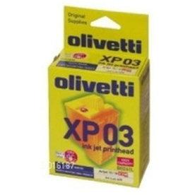 Olivetti 00B261 blæk, 4 farvet (XP-3)