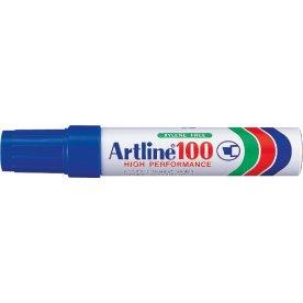Artline EK100 permanent marker, blå