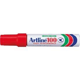 Artline EK100 permanent marker, rød