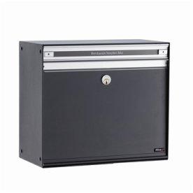 Allux SC200 Systempostkasse, sort stål