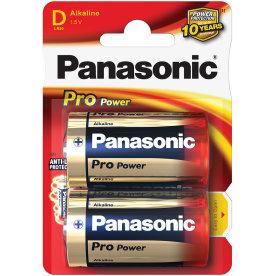 Panasonic str. D Pro Power Gold batteri, 2 stk