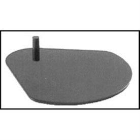 Delphée bordfod, grå
