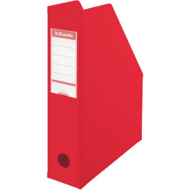 Esselte Vivida Maxi A4 tidsskriftholder, rød